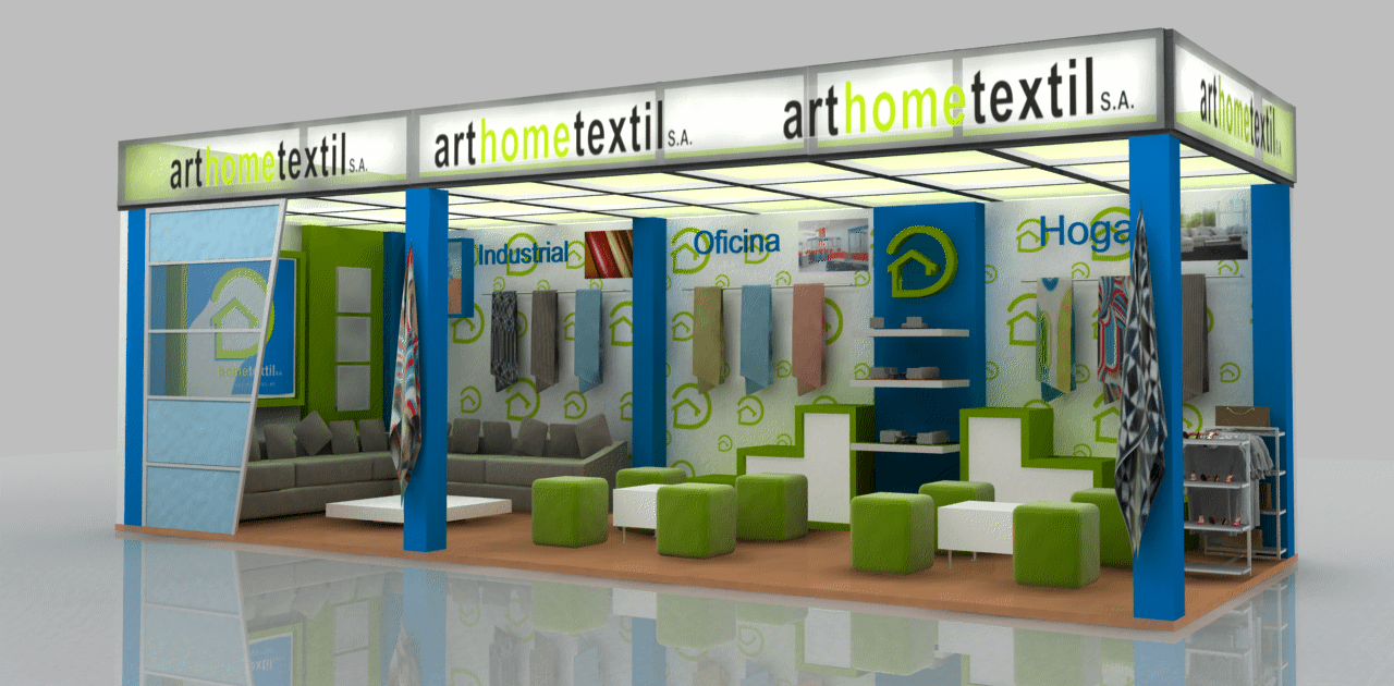 Art Home Textil stand